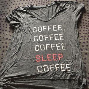 Tops - Coffee t shirt